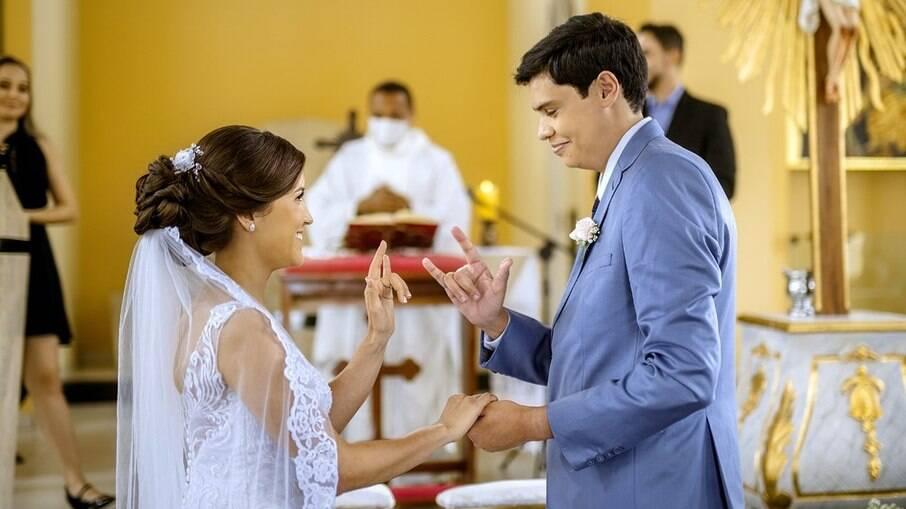 A noiva considerou o ato