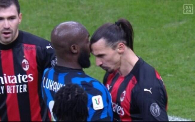 Lukaku e Ibrahimovic quase se agrediram durante clássico italiano