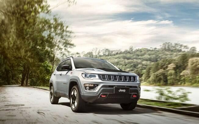 Jeep Compass vai ganhar uma nova versão de sete lugares, que deverá ser vendida também no Brasil