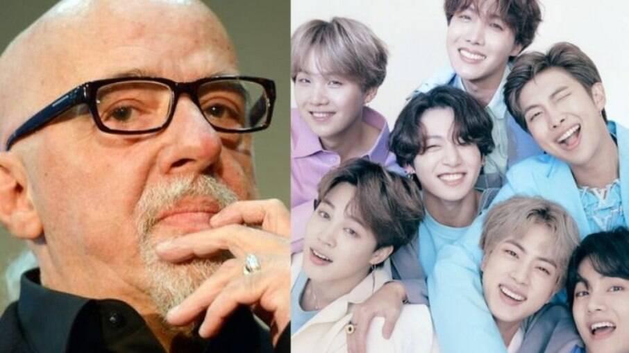 Paulo Coelho elogiou atitude do BTS