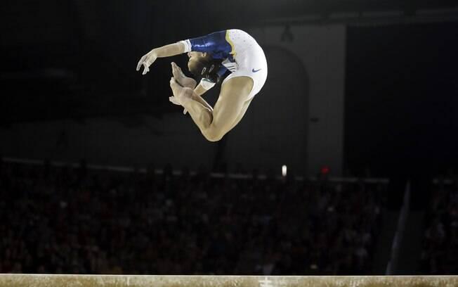 Flávia Saraiva, revelação brasileira da ginástica