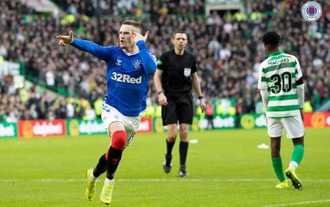 Rangers venceu o clássico contra o Celtic