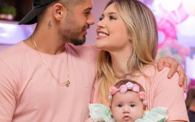 Filha de Virginia Fonseca e Zé Felipe usa maiô avaliado em quase R$ 1 mil