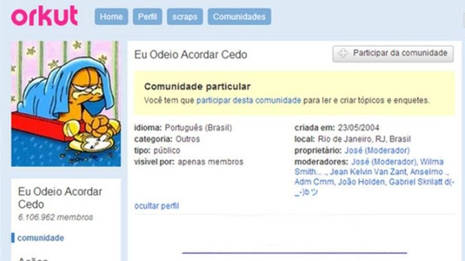 7 anos do fim do Orkut