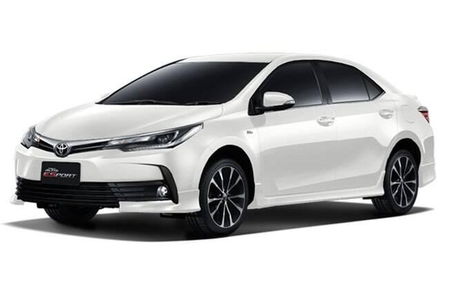 Com detalhes esportivos, o Toyota Corolla ESport deve abandonar o nome quando vier ao Brasil, retomando a sigla XRS