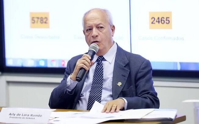 Arly de Lara anunciou prorrogação de medidas da Sanasa