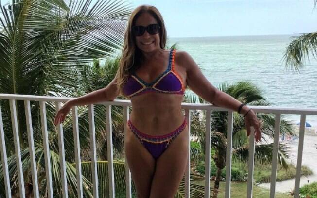 Susana Vieira em férias