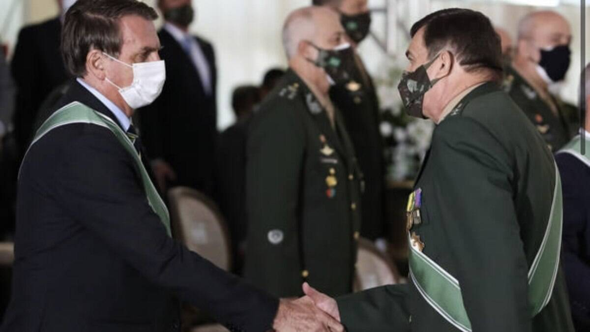 Chefe do Exército diz que Forças Armadas vão 'cumprir sua missão'