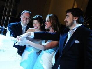 Bia dividiu o casamento com o primo: