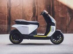Husqvarna revela conceito de sua scooter elétrica Vektorr