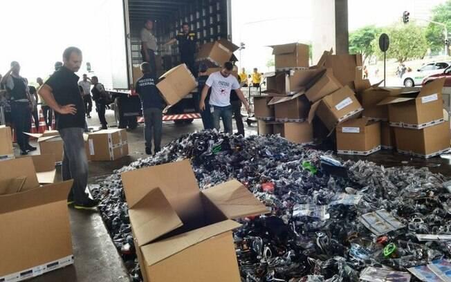Brasil perdeu R$ 291 bilhões para o mercado ilegal em 2019