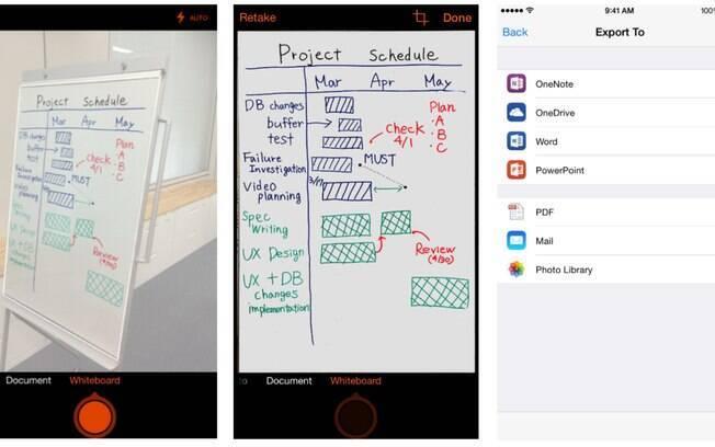 Gratuito, o Office Lens é um aplicativo de scanner de bolso da Microsoft, disponível para Windows Phone, iOS e, em breve, para Android