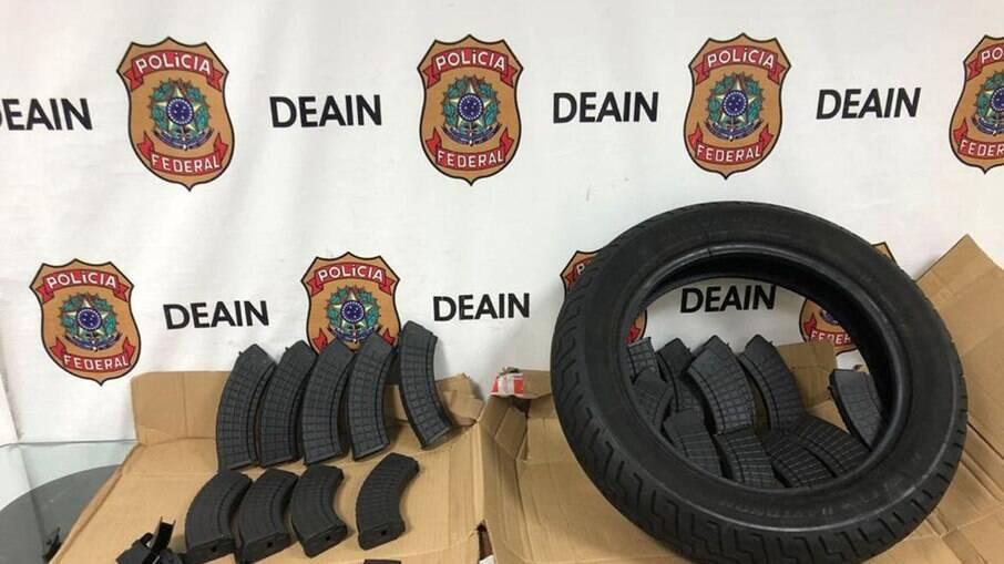 Policia Federal combate tráfico de armas e de munição