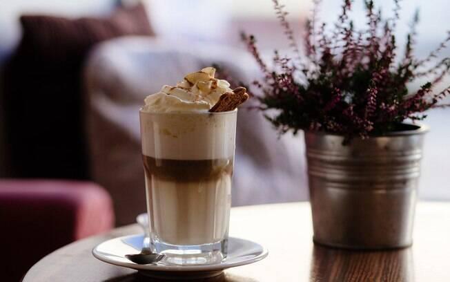 Confira a receita do Coffee & Tals de cappuccino cremoso