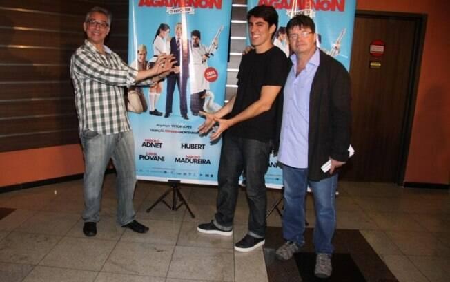 Hubert e Marcelo Madureira lançam filme com Marcelo Adnet e falam sobre o