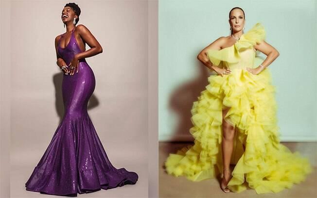 Veja os looks das famosas no Prêmio Multishow