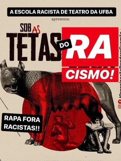 Imagem usada pelo Coletivo Dandara Gusmão nas redes sociais