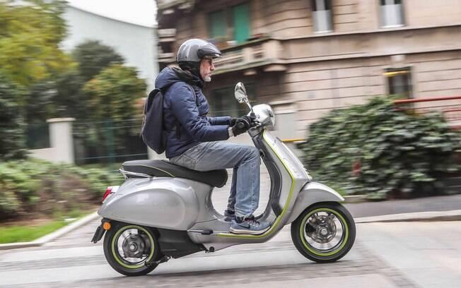 Vespa Elettrica é um dos modelos de scooter movidos a eletricidade que vão chegar ao mercado