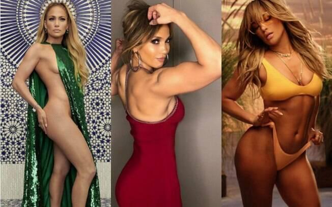 Jennifer Lopez está deusa aos 49 anos e revela alguns de seus segredos à revista