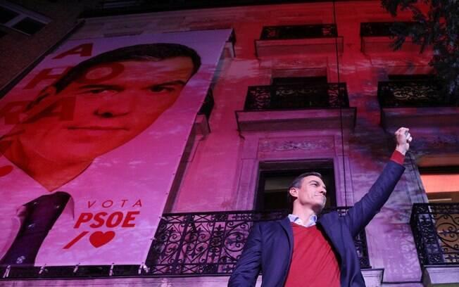 Pedro Sánchez foi o escolhido para liderar a coalizão de esquerda