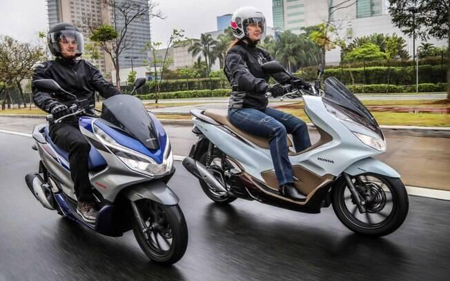 Honda PCX 150 2020. Foto: Divulgação