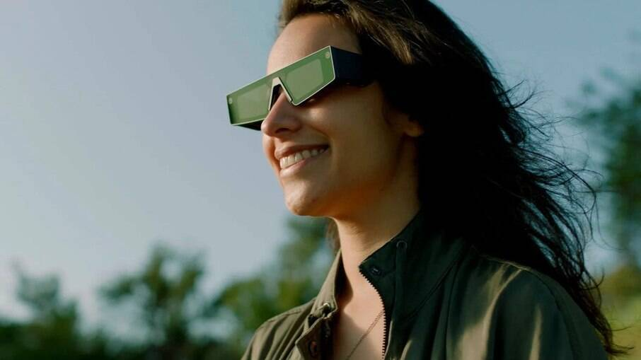 Óculos de realidade aumentada da Snap