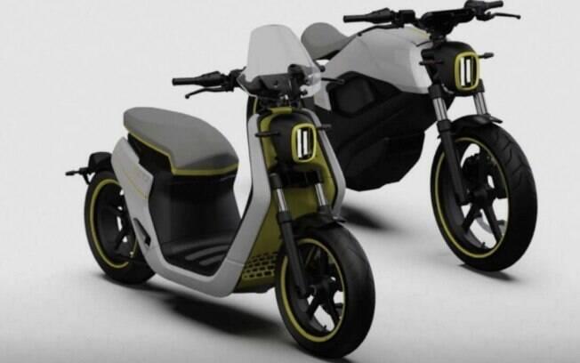 As novas motos elétricas. Um scooter e a trail. A BRP deseja se inserir no novo nicho de mercado