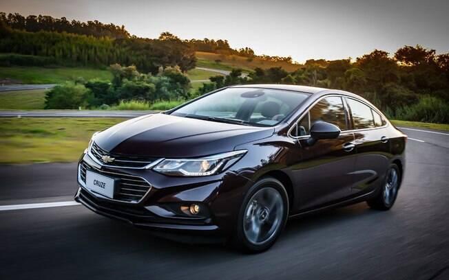 O Chevrolet Cruze conta com o motor 1.4 turbo em todas as versões, com foco na economia.
