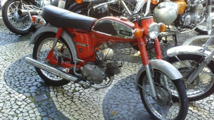 A Yamaha F5 de 1968 era uma das preferidas pelo público jovem