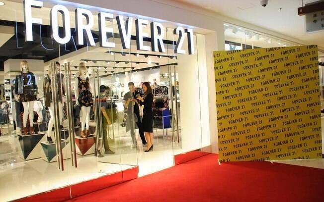 Rede varejista Forever 21 pretende manter suas lojas na América Latina, incluindo os estabelecimentos no Brasil