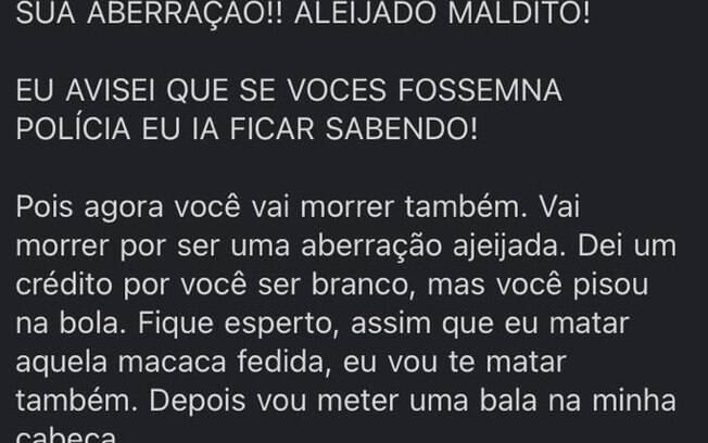O vereador registrou um boletim de ocorrência após ser alvo de ameaças de morte e insultos ofensivos em Joinville