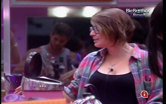 Mayara disputa a permanência no reality com Fael