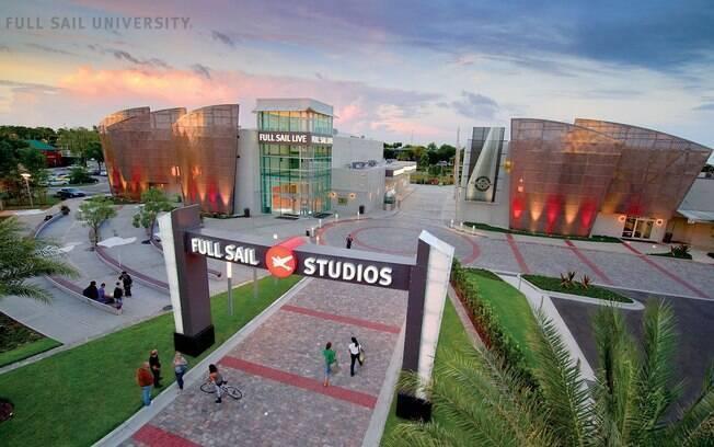 Estudantes brasileiros poderão ter a oportunidade de participar de um programa de 6 dias no campus da Full Sail, em Orlando, Flórida, Estados Unidos