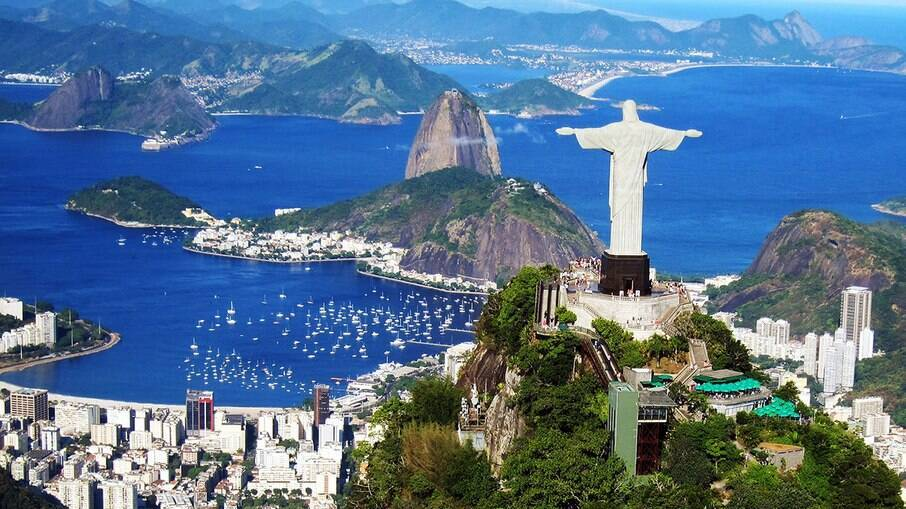 O Cristo Redentor e o Pão de Açúcar estão entres os pontos turísticos mais famosos do mundo