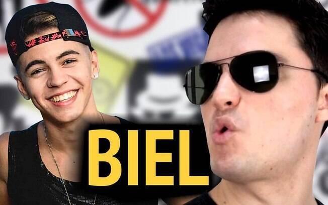 Felipe Neto e Biel protagonizaram uma briga nas redes sociais