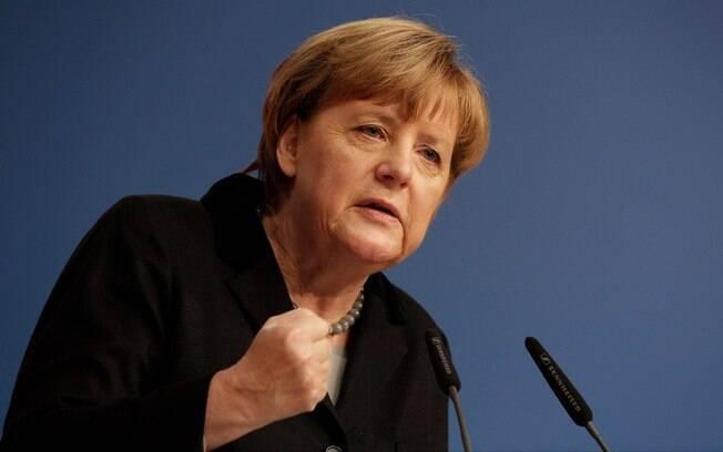 Chanceler da Alemanha, Angela Merkel está sob pressão após a entrada de refugiados no País