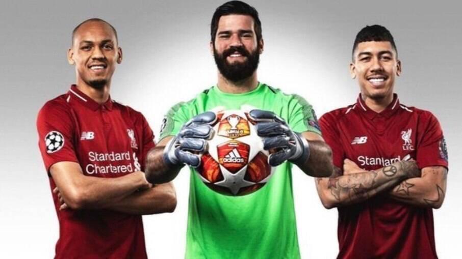 Trio de brasileiros do Liverpool é barrado para se apresentar à Seleção