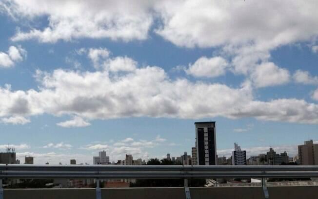 Segunda-feira será de sol entre nuvens, com máxima de 26ºC em Campinas