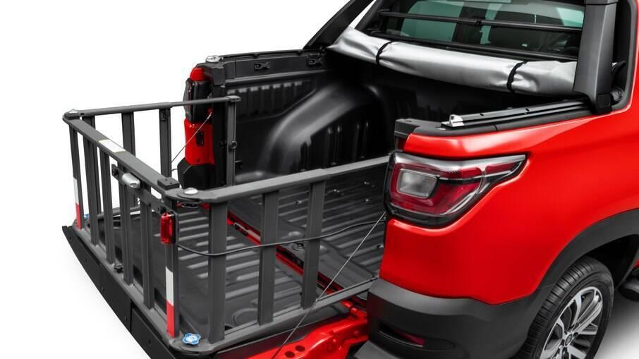 Extensor de caçamba é opção dentro da lei para transportar cargas maiores em picapes