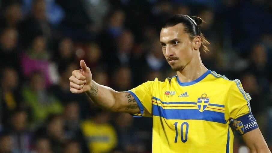 Ibrahimovic volta a ser convocado Suécia