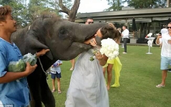 Ela viajou até a Tailândia para ter um casamento inesquecível. E realmente foi, mas por outros motivos