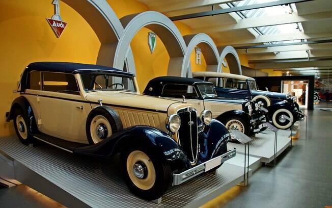 Zwickau foi responsável por produzir os modelos da Auto Union, que iam desde carros mais populares até os luxuosos e os carros de corrida