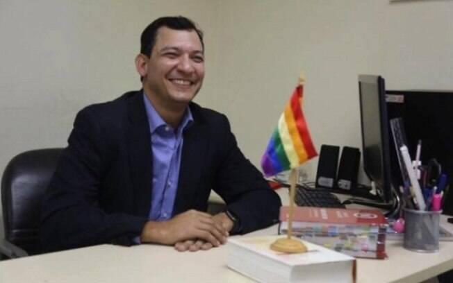 Nélio Georgini é coordenador especial da Diversidade Sexual da prefeitura e tem atuado para garantir os direitos humanos