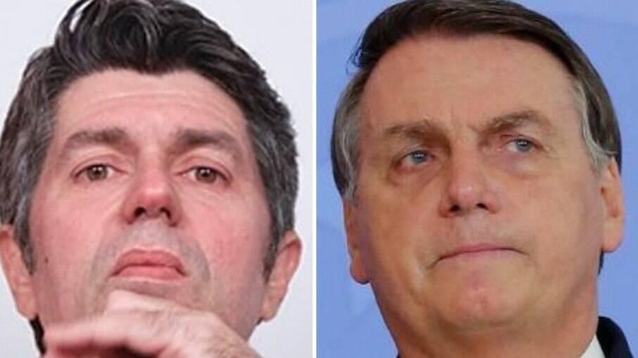Leoni e Jair Bolsonaro