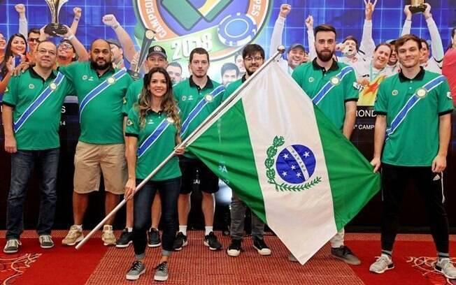 Paraná venceu o Brasileirão de poker por equipes em 2018