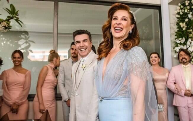 Entre os casamentos dos famosos que chamaram atenção neste ano está o de Claudia Raia e Jarbas Homem de Mello