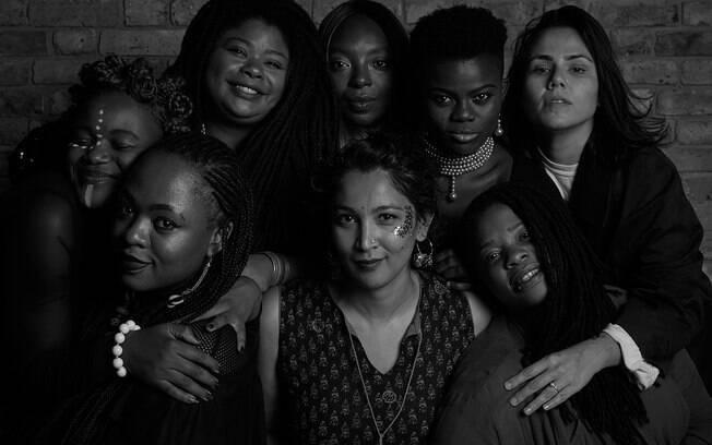 O projeto integra oito mulheres de diferentes nacionalidades