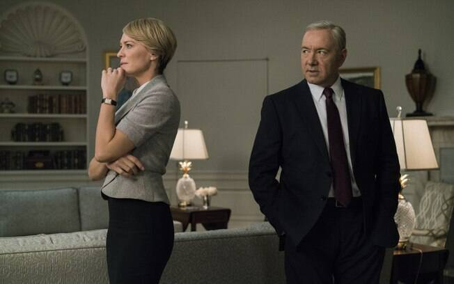"Kevin Spacey em ""House of Cards"""
