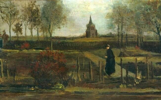 Quadro de Van Gogh que foi roubado de museu
