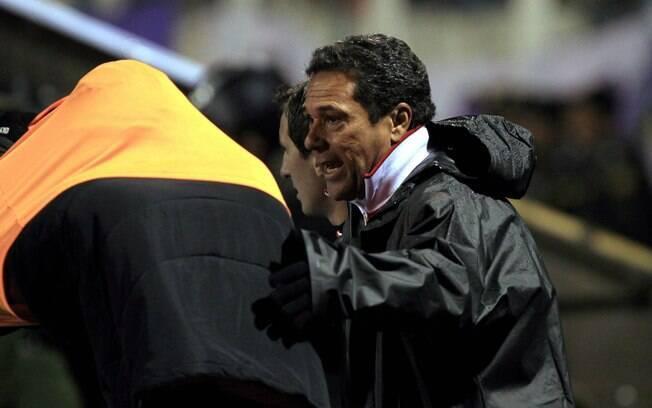 Luxemburgo comandou o Flamengo na derrota  para o Real Potosí